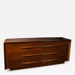 Melchiorre Bega Italian Modern Walnut 6 drawer Dresser Melchiorre Bega - 1411306