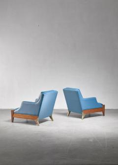 Melchiorre Bega Melchiorre Bega pair of lounge chairs Italy 1940s - 907887