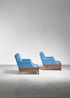 Melchiorre Bega Melchiorre Bega pair of lounge chairs Italy 1940s - 907888