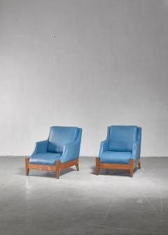Melchiorre Bega Melchiorre Bega pair of lounge chairs Italy 1940s - 907889