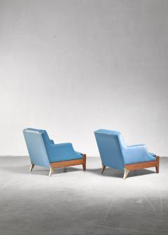 Melchiorre Bega Melchiorre Bega pair of lounge chairs Italy 1940s - 907890