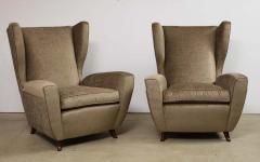 Melchiorre Bega Pair of Club Chairs attributed to Melchiorre Bega - 1252345