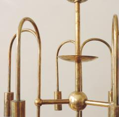 Melchiorre Bega Rare Arch Melchiorre Bega brass ceiling lamp Italy 1939 - 747534