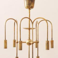 Melchiorre Bega Rare Arch Melchiorre Bega brass ceiling lamp Italy 1939 - 747535