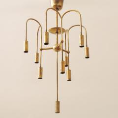 Melchiorre Bega Rare Arch Melchiorre Bega brass ceiling lamp Italy 1939 - 747538