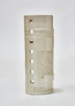 Melissa Cromwell Pair of Slab Built Ceramic Wall Sconces by Melissa Cromwell - 1173805