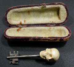 Memento Mori Skull Key Russia 1900 - 1953286