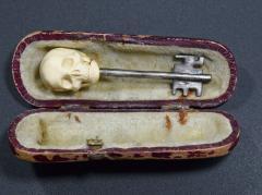 Memento Mori Skull Key Russia 1900 - 1953287