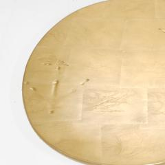 Meret Oppenheim Traccia Bronze and Gold Leaf Italian Table by Meret Oppenheim for Simon Gavina - 1180753