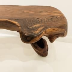 Mexican Live Edge Bench in Solid Rosewood - 761191