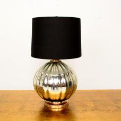 Mexican Modernist Grande Mercury Glass Table Lamp 1950s - 1443899