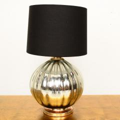 Mexican Modernist Grande Mercury Glass Table Lamp 1950s - 1443900
