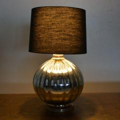 Mexican Modernist Grande Mercury Glass Table Lamp 1950s - 1443902