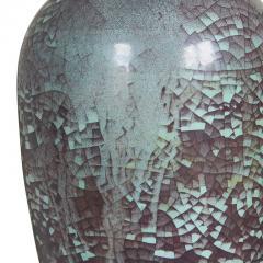 Michael Andersen Sons Plum and Celadon Craquelure Glaze Lamp by Michael Andersen Sons - 1791984