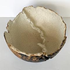 Michael Becker Monumental Stoneware Vessel Bowl by Michael Becker - 1043394