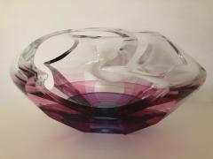 Michael David Contemporary Glass Kit Karbler Michael David Vortex Sculpture Bowl - 1605637