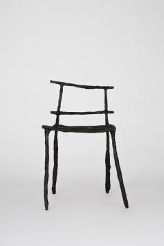 Michael Gittings Stick Sculpted Chair Signed by Michael Gittings - 860267
