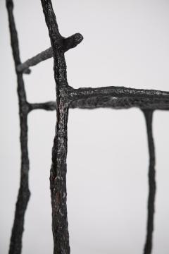 Michael Gittings Stick Sculpted Chair Signed by Michael Gittings - 860270