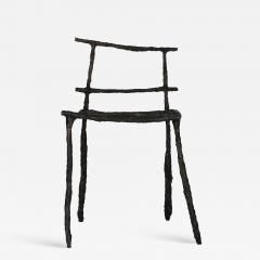 Michael Gittings Stick Sculpted Chair Signed by Michael Gittings - 862299