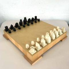 Michael Graves Michael Graves Postmodern Chess and Checkers Set Signed - 1491972