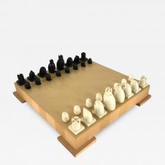 Michael Graves Michael Graves Postmodern Chess and Checkers Set Signed - 1492785