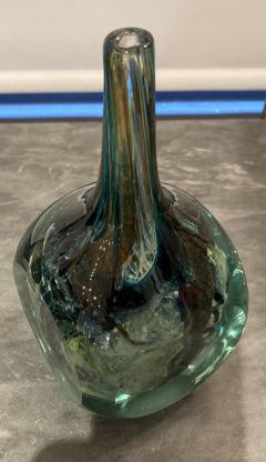 Michael Harris Maltese Studio Glass Square Vase - 2111530