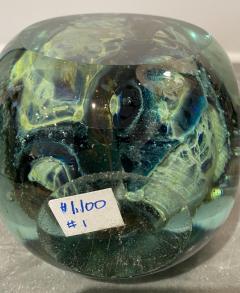 Michael Harris Maltese Studio Glass Square Vase - 2111531