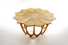 Michael Hurwitz Twelve Leaf Resin Table - 1166986