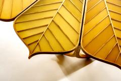 Michael Hurwitz Twelve Leaf Resin Table - 1166987