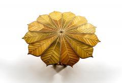 Michael Hurwitz Twelve Leaf Resin Table - 1166990