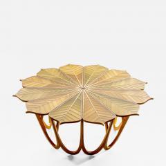 Michael Hurwitz Twelve Leaf Resin Table - 1167772