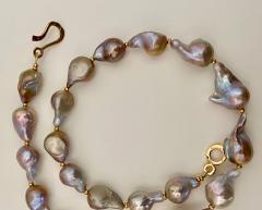Michael Kneebone Flame Ball Baroque Pearl Necklace - 1584053