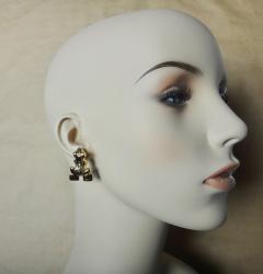 Michael Kneebone Michael Kneebone 18k Gold Diamond Inca Frog Earrings - 1179592