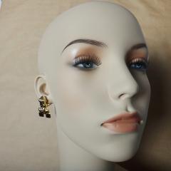 Michael Kneebone Michael Kneebone 18k Gold Diamond Inca Frog Earrings - 1179600