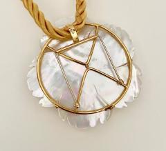 Michael Kneebone Michael Kneebone Amethyst Citrine Topaz Pink Sapphire Diamond Flower Pendant - 1668799