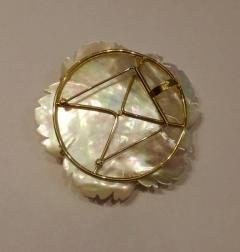 Michael Kneebone Michael Kneebone Amethyst Citrine Topaz Pink Sapphire Diamond Flower Pendant - 1668800