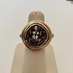 Michael Kneebone Michael Kneebone Antique Drachma Coin Frog Archaic Style Ring - 1528199