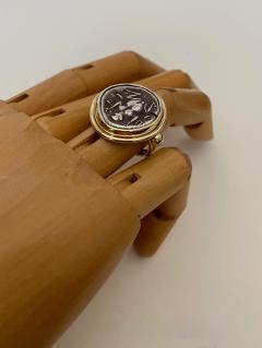 Michael Kneebone Michael Kneebone Antique Drachma Coin Frog Archaic Style Ring - 1528205