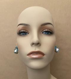 Michael Kneebone Michael Kneebone Apatite Blue Topaz Diamond 18k Gold Confetti Earrings - 1718989
