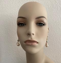 Michael Kneebone Michael Kneebone Baroque Pearl Diamond Granulated Bead Dangle Earrings - 1898222
