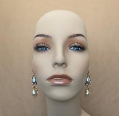 Michael Kneebone Michael Kneebone Baroque Tahitian Pearl South Seas Pearl Diamond Dangle Earrings - 1490856