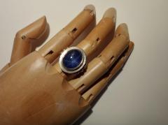 Michael Kneebone Michael Kneebone Blue Star Sapphire 18 Karat Gold Ring - 996824