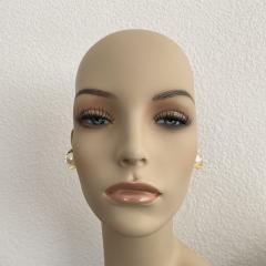 Michael Kneebone Michael Kneebone Button Pearl 18K Yellow Gold Earrings - 1939815