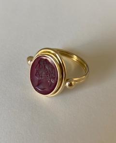 Michael Kneebone Michael Kneebone Carnelian intaglio Archaic Style Ring - 1630989