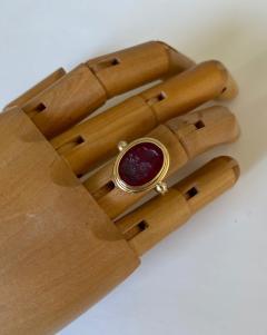 Michael Kneebone Michael Kneebone Carnelian intaglio Archaic Style Ring - 1631022