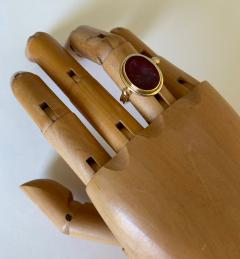 Michael Kneebone Michael Kneebone Carnelian intaglio Archaic Style Ring - 1631048