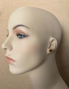 Michael Kneebone Michael Kneebone Garnet Yellow Sapphire Fire Opal Diamond Dangle Earrings - 1360206