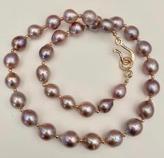 Michael Kneebone Michael Kneebone Lavender Baroque Pearl Necklace - 1619427