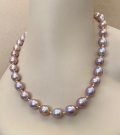 Michael Kneebone Michael Kneebone Lavender Baroque Pearl Necklace - 1619428