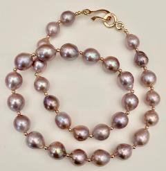 Michael Kneebone Michael Kneebone Lavender Baroque Pearl Necklace - 1619429